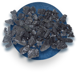 Мраморный щебень черный