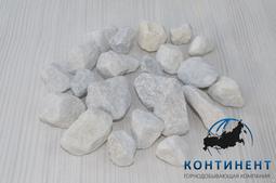 Мраморный щебень 20-40 мм цвет белый в мкр