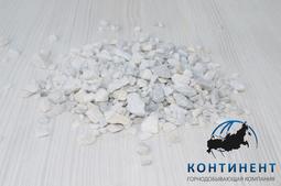 Мраморный щебень 5 -10 мм цвет белый мкр