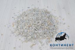 Мраморный щебень 2,5-5 мм цвет серый навал