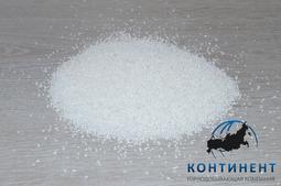 Крошка мраморная (мраморный песок) фр.1,0-1,5мм цвет белый в мкр