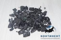 Мраморный щебень 40-70мм цвет черный в мкр