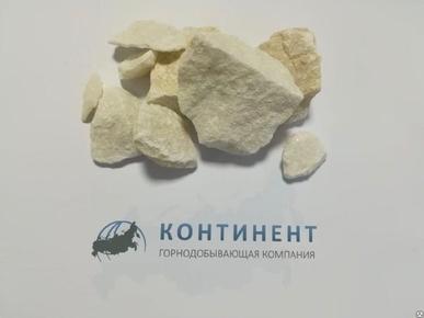Мраморный щебень фр. 20-70 мм цвет медовый