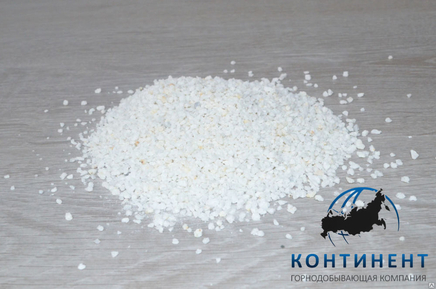 Мраморный щебень 2,5-5 мм цвет белый, навал