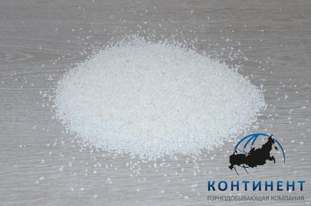 Крошка мраморная (мраморный песок) фр.0,5-1,0мм цвет белый в мкр